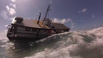 profepa inicia procedimiento encallamiento arrecife yucatan