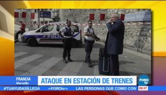 Abaten a atacante terrorista en estación de tren de Marsella