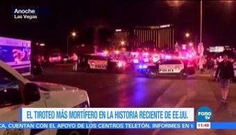 Las Vegas, escenario del peor tiroteo en EU