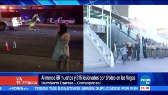 Continúa Investigación Tiroteo Las Vegas Autoridades Tiroteo