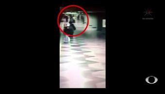 Empujan a mujer a las vías del Metro de la CDMX