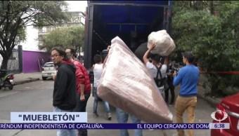 'Muebletón' apoya a damnificados del sismo del 19 de septiembre