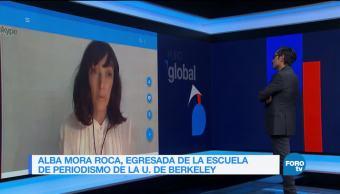 Genaro Lozano entrevista a Alba Mora Roca