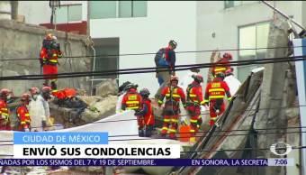 IPN lamenta muerte de 3 estudiantes en derrumbe de Álvaro Obregón 286