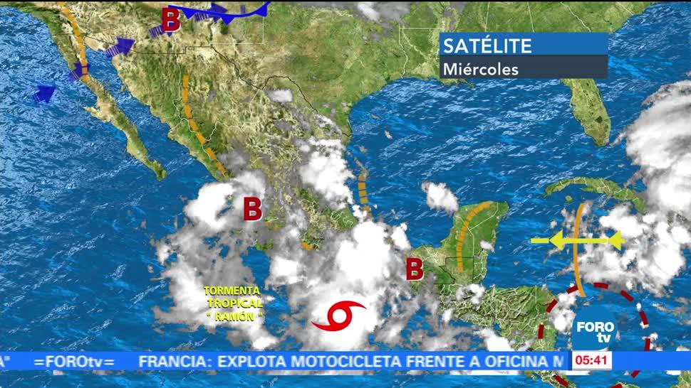 Se forma la tormenta tropical 'Ramón'