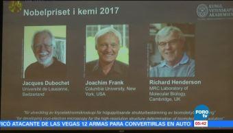 Otorgan Premio Nobel de Química al estudio de las biomoléculas