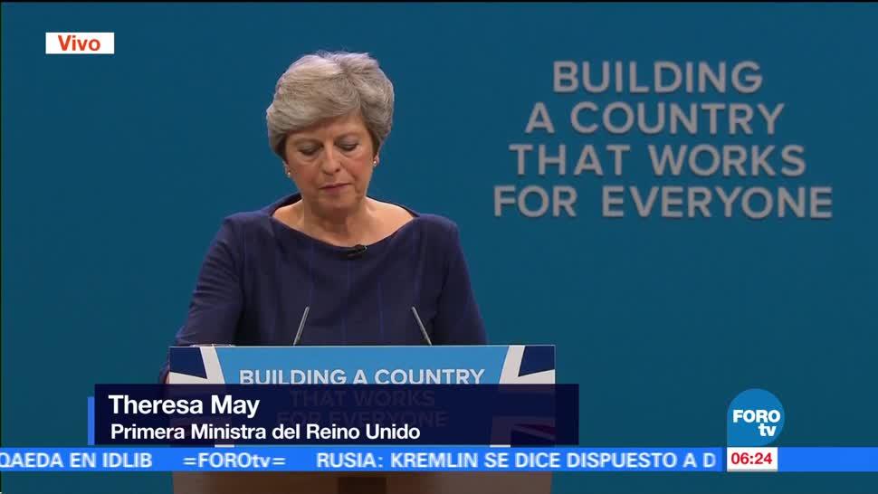 Theresa May: El Brexit abre a un Reino Unido global