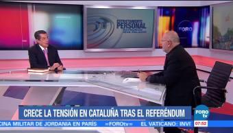 La tensión en Cataluña tras el referéndum
