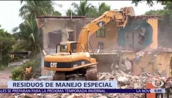 Manejo de escombros por sismos es competencia de gobiernos estatales, dice Profepa