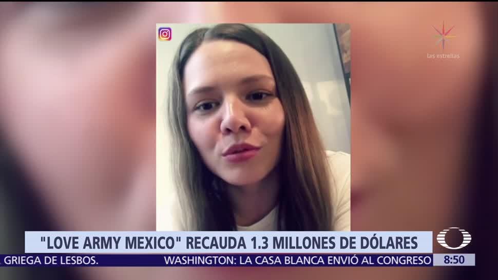 Google dona 500 mil dólares a 'Love Army México'