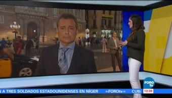 Reacciones por crisis en Cataluña