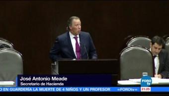 José Antonio Meade comparece ante la Cámara de Diputados