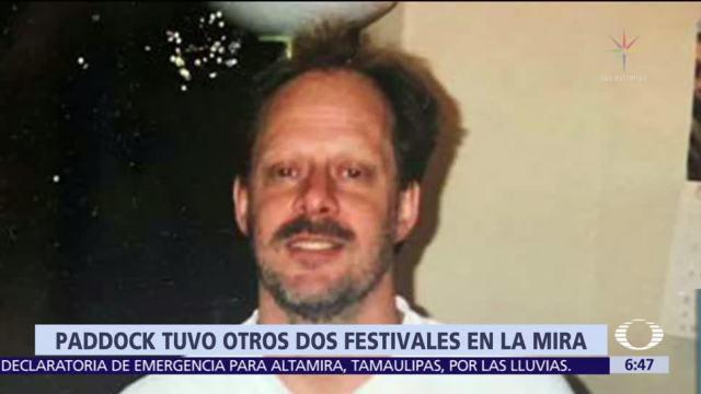 Paddock tuvo en la mira otros festivales musicales antes de Las Vegas
