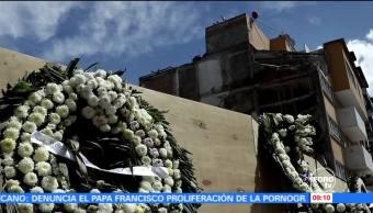 Vecinos de Benito Juárez esperan recuperar pertenencias antes de demoliciones tras sismo