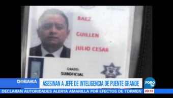 Asesinan a jefe de Inteligencia de Cefereso de Puente Grande Jalisco