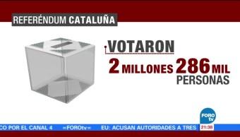 Parlamento analizará resultado del referéndum en Cataluña