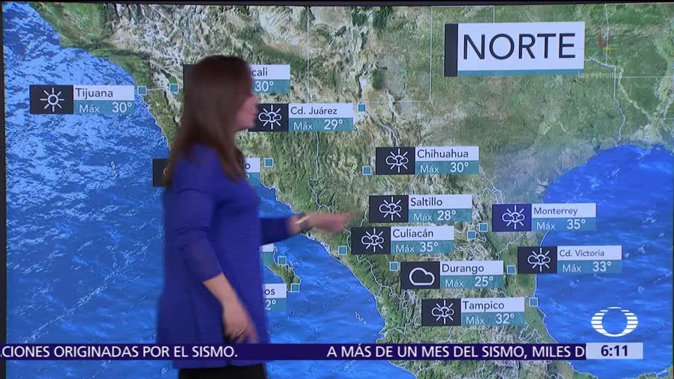 Tres fenómenos naturales propiciarán lluvias en la mayor parte del país