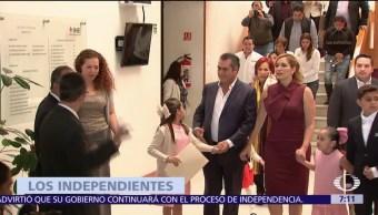 Jaime Rodríguez 'El Bronco' presenta carta como aspirante a candidatura presidencial independiente