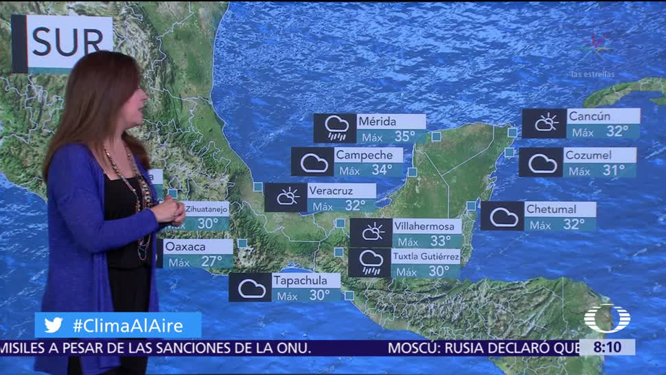 Clima Al Aire: Prevén potencial de lluvias en la Ciudad de México