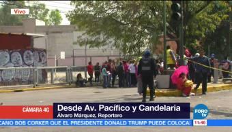 Padres de familia bloquean calles de la delegación Coyoacán