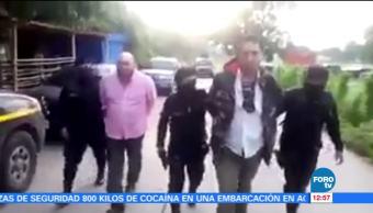 Guatemala detiene a dos mexicanos por transportar cocaína en aeronave
