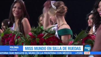 Polonia realiza Miss Mundo en Silla de Ruedas