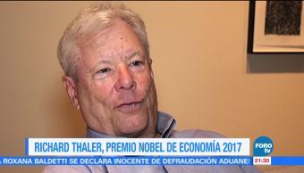 Richard Thaler, premio Nobel de Economía 2017