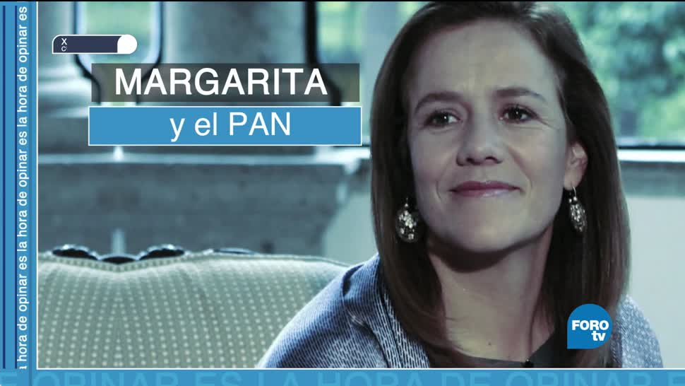 Margarita Zavala y su renuncia al PAN