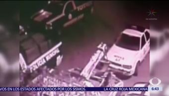 Grupo armado ataca comandancia de Apaseo El Grande, Guanajuato