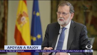 Países europeos expresan respaldo al gobierno de Rajoy ante crisis en Cataluña