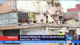 Iniciarán Trabajos Demolición Edificio Colonia Narvarte Concepción Béistegui 1503