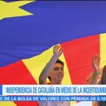 Independencia de Cataluña en medio de la incertidumbre