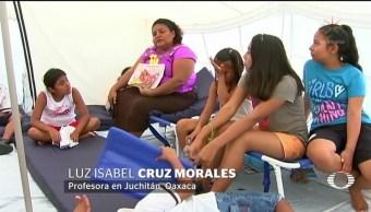 Avanza demolición de escuelas en Oaxaca