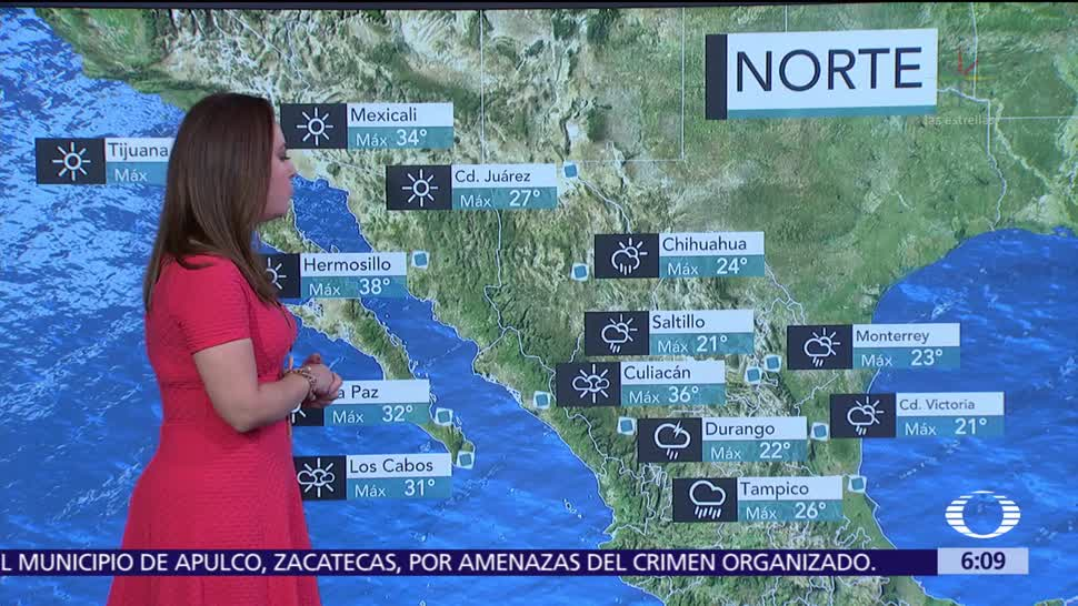 Prevén lluvias intensas en regiones de Hidalgo, Puebla, Veracruz y Oaxaca