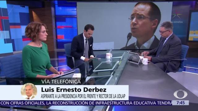 Luis Ernesto Derbez habla en Despierta sobre el Frente Ciudadano y Anaya
