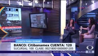 Fundación Televisa apoya reconstrucción tras sismos en México