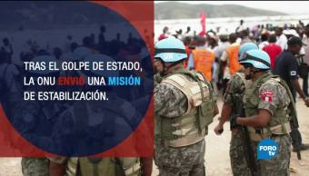 ONU decreta fin del Minustah en Haití