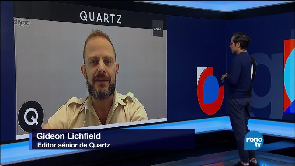 Genaro Lozano entrevista a Gideon Lichfield