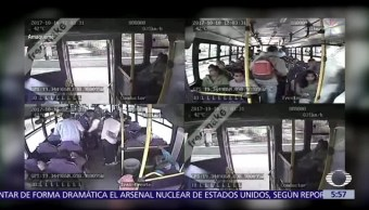 Captan asalto a camión de pasajeros en la México-Puebla