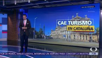 Crisis política en España afecta al turismo en Cataluña