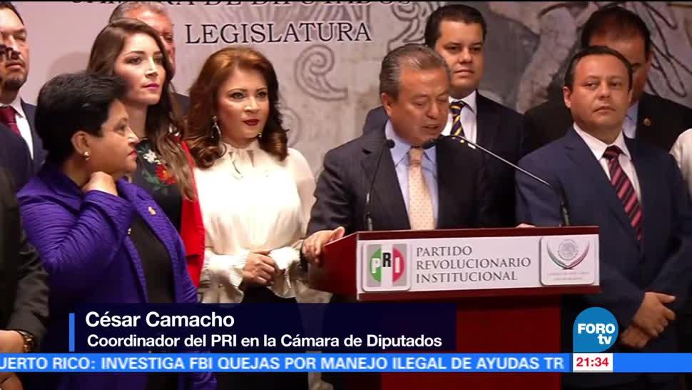 PRI propone comisión para investigar a Ricardo Anaya