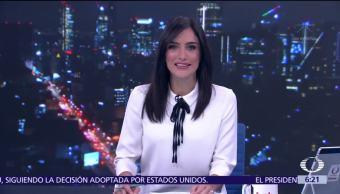 Las noticias, con Danielle Dithurbide Programa del 13 de octubre del 2017