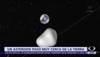 Asteroide del tamaño de un camión pasa cerca de la Tierra