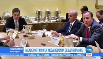 Meade participa en la reunión de otoño del BM y el FMI