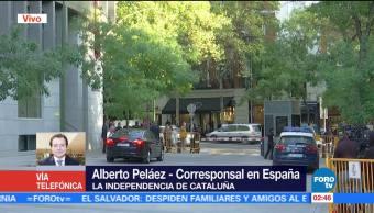 Carles Puigdemont da largas a la independencia de Cataluña
