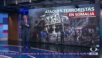 Más de 300 personas han muerto por atentado en capital de Somalia