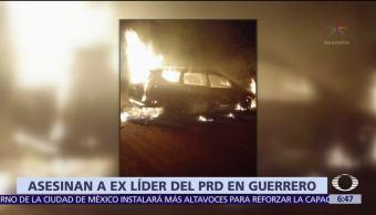 Encuentran cuatro cuerpos calcinados en Guerrero