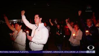 Noche de velas en la CDMX por las víctimas del sismo 19S