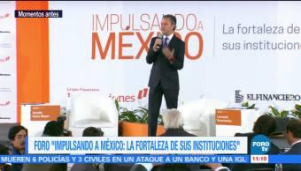 Aurelio Nuño participa en el foro 'Impulsando a México'