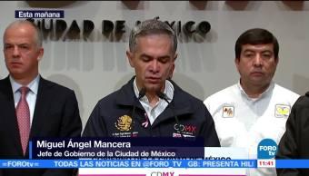 Mancera presenta informe sobre tareas de reconstrucción tras sismo en CDMX